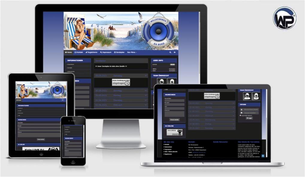 Radio Template Solo71 - CMS Portal Mobile