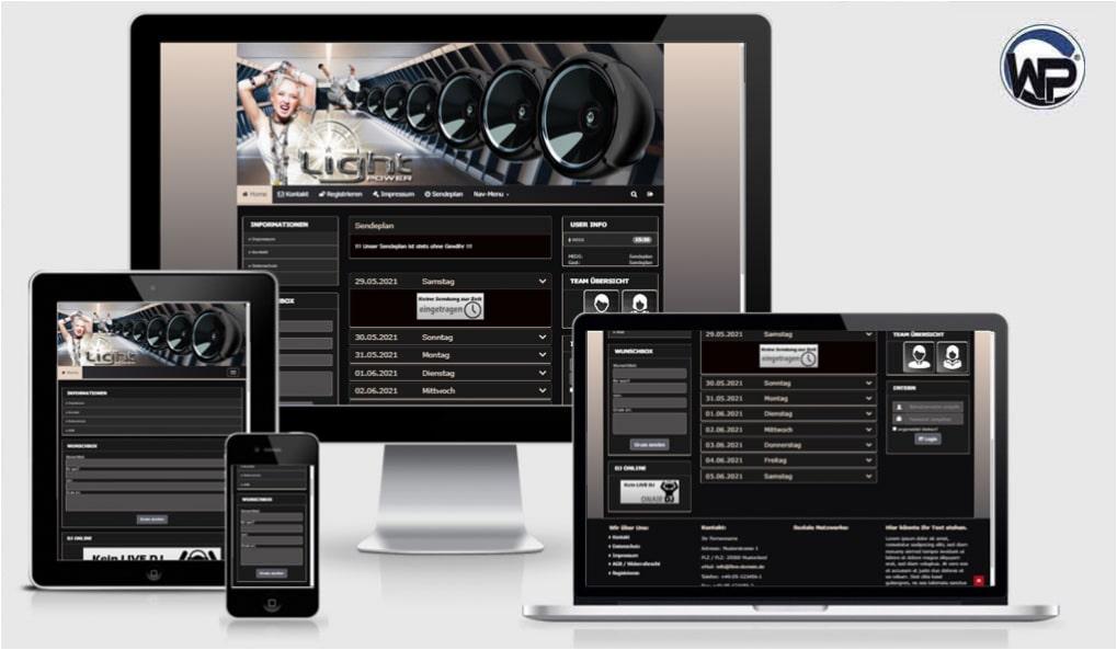 Radio Template Solo80 - CMS Portal Mobile