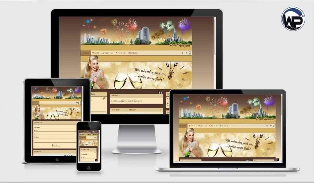 Feiertag Silvester 01 - CMS Portal Mobile