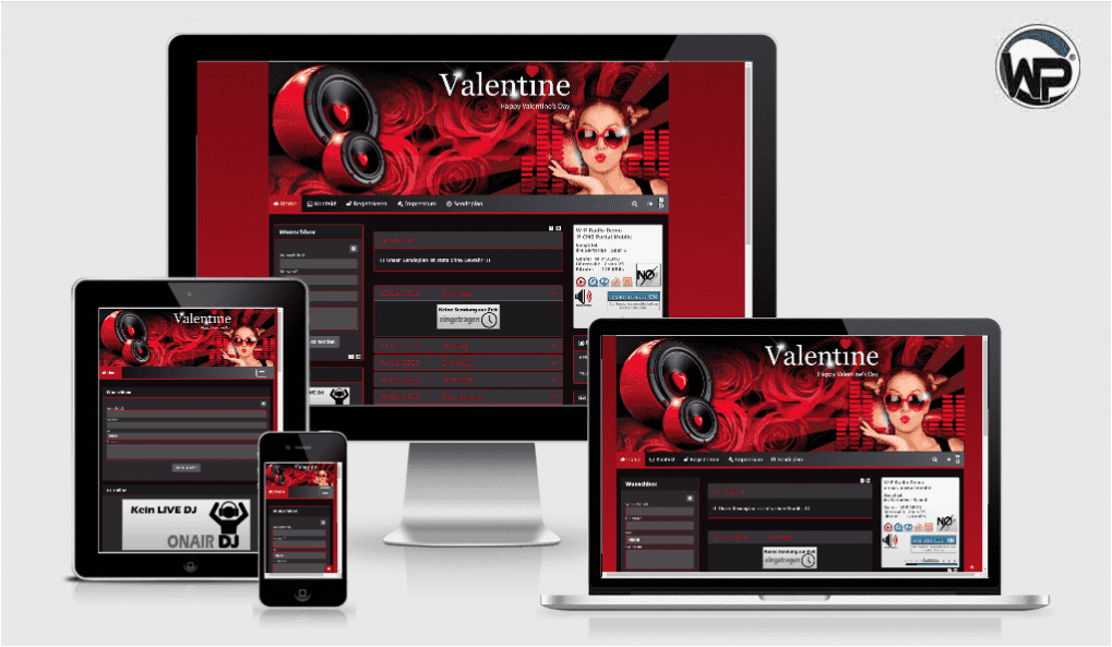 Feiertag Valentine 02 - CMS Portal Mobile