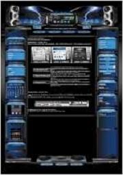 Metallica Template-Blau 001
