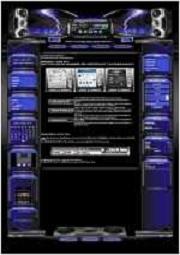 Metallica Template-Lila-Blau 002