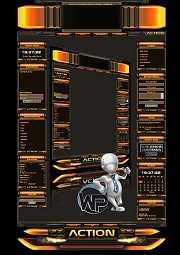 W-P Action, Gamer-Template f?r das CMS Portal V2