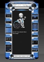 W-P Arktik Blau, Universel-Template für das CMS Portal V2