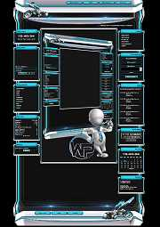 W-P Cyber Wasp, SiFi-Template für das CMS Portal V2