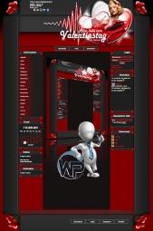 W-P Feiertage, New Valentinestag-Template für das CMS Portal V2