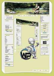 W-P Angeln, Sport-Template für das CMS Portal V2