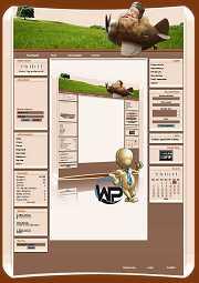 W-P Babyfly, Fun-Template für das CMS Portal V2