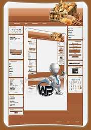 W-P Bäcker, Essen&Trinken-Template für das CMS Portal V2