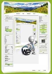 W-P Bergwiesen, Urlaub&Ferien-Template für das CMS Portal V2