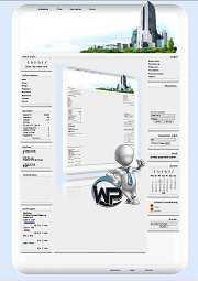 W-P Big City, Business-Template für das CMS Portal V2