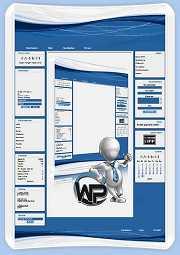 W-P Blueline, Business-Template für das CMS Portal V2