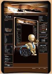 W-P Bookoffice, Business-Template für das CMS Portal V2