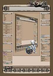 W-P Bot Spider, SiFi-Template für das CMS Portal V2