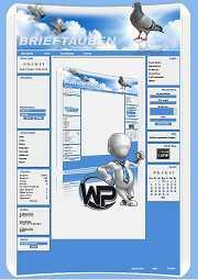 W-P Brieftauben, Sport-Template für das CMS Portal V2
