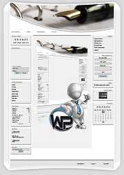 W-P B?ro, Business-Template f?r das CMS Portal V2