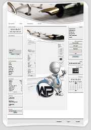 W-P Büro, Business-Template für das CMS Portal V2