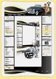 W-P Cadillac, Fun-Template für das CMS Portal V2