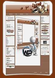 W-P Cafe, Essen&Trinken-Template für das CMS Portal V2