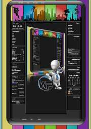W-P Citykids, Fun-Template für das CMS Portal V2