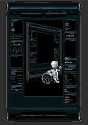 W-P Clan Line, Gamer-Template für das CMS Portal V2