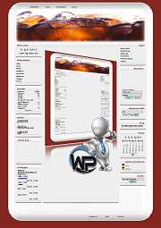 W-P Cola, Essen&Trinken-Template für das CMS Portal V2