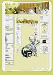 W-P Dinner, Essen&Trinken-Template für das CMS Portal V2