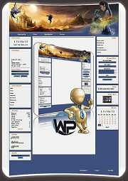 W-P Dragon, Fun-Template für das CMS Portal V2