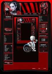 W-P Dragon, Gothic-Template für das CMS Portal V2