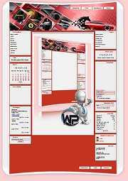 W-P Ferrari, Fun-Template für das CMS Portal V2