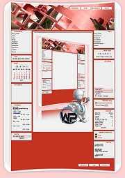 W-P Fresh Rose, Fun-Template für das CMS Portal V2