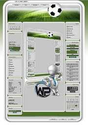 W-P Fussball, Sport-Template für das CMS Portal V2