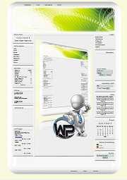 W-P Greenliner, Fun-Template für das CMS Portal V2