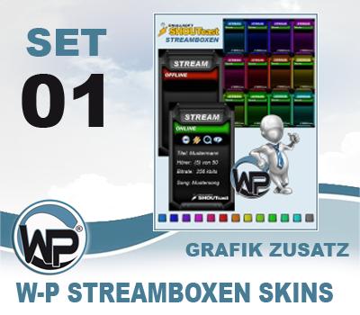W-P Streambox Skins Set 01
