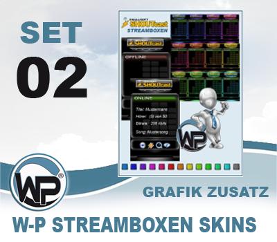W-P Streambox Skins Set 02