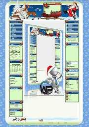 W-P X-Mas Traditionell, Feiertage-Template für das CMS Portal V2
