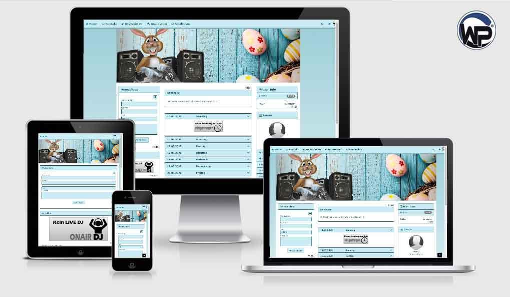 Feiertag Ostern 01 - CMS Portal Mobile