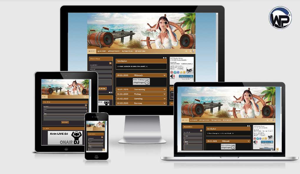 Radio Template Solo15 - CMS Portal Mobile