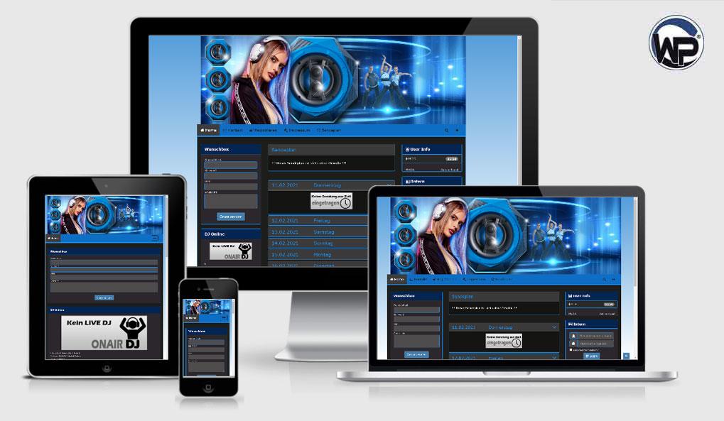 Radio Template Solo17 - CMS Portal Mobile