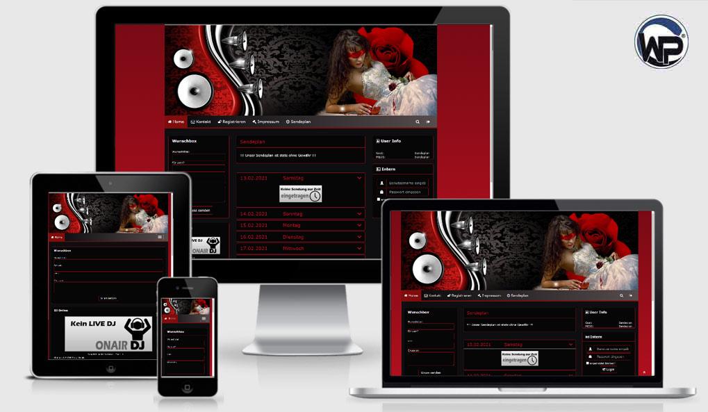 Radio Template Solo40 - CMS Portal Mobile