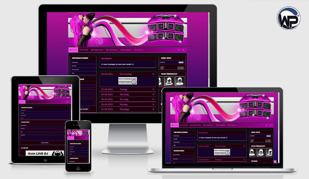 Radio Template Solo48 - CMS Portal Mobile