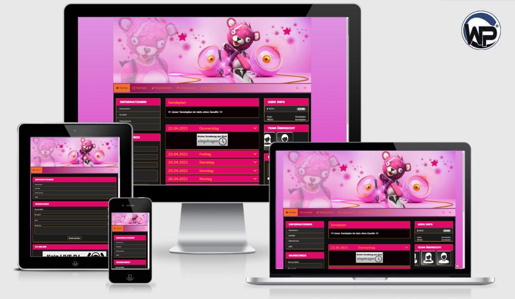 Radio Template Solo51 - CMS Portal Mobile
