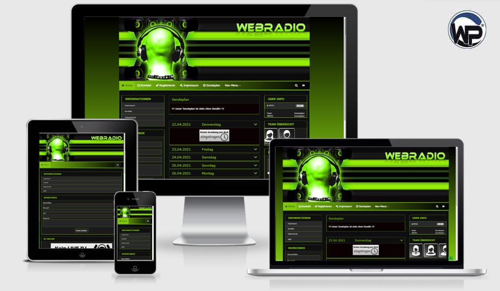 Radio Template Solo53 - CMS Portal Mobile