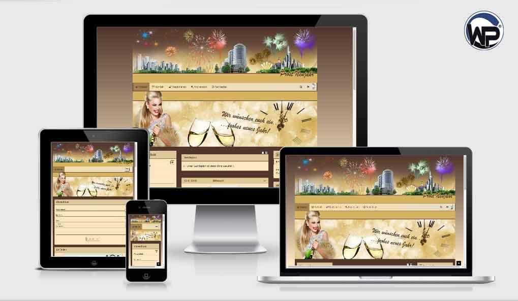 201 Silvester Template 01 - CMS Portal Mobile