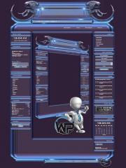 W-P Alien, SiFi-Template für das CMS Portal V2