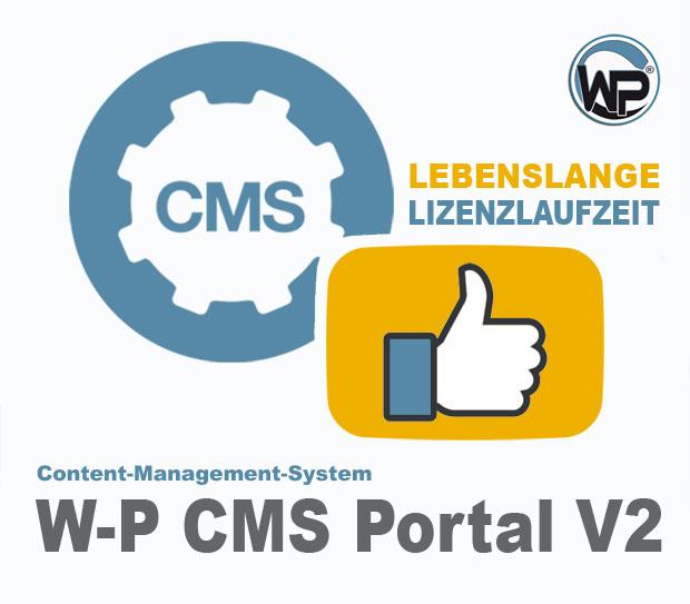 W-P CMS Portal (lebenslange Lizenzlaufzeit) V2.48.9