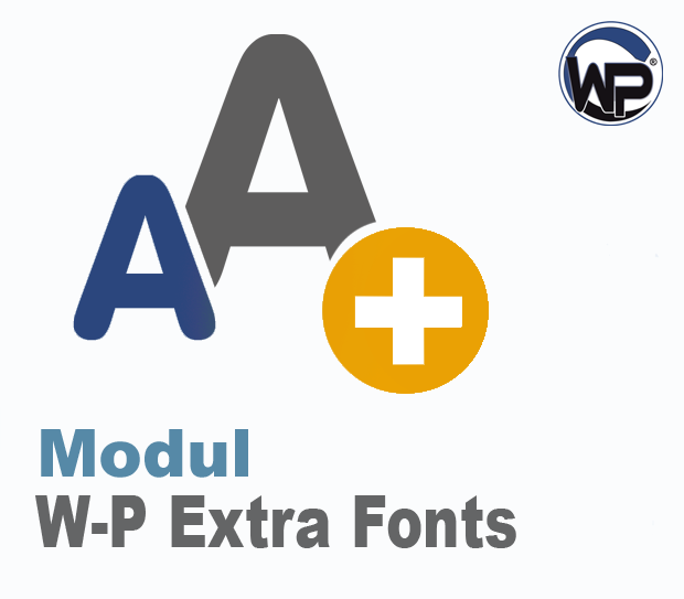 W-P Extra Fonts - Modul