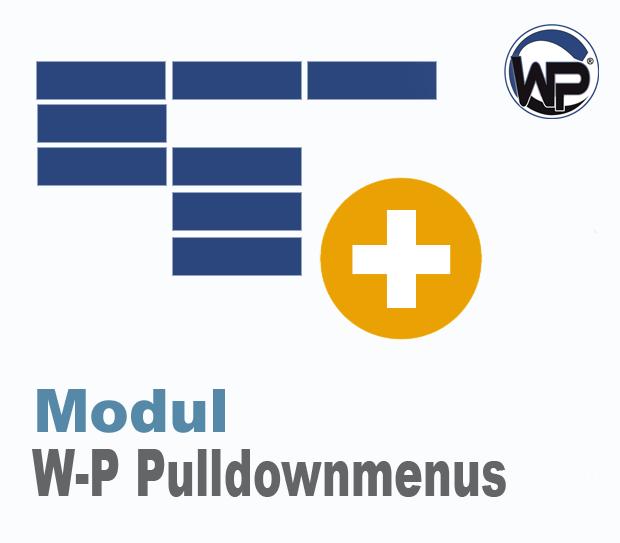 W-P Pulldownmenus - Modul