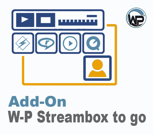 W-P Streambox to go - Add-On