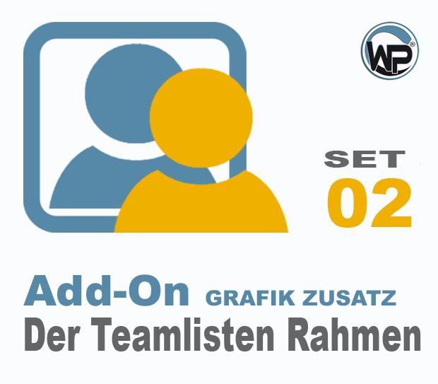 Teamliste und Hörergalerie Rahmen Set 02